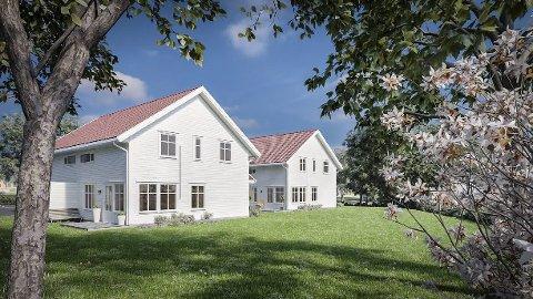 BOENHETER: Det planlegges 16 boenheter i Sørenga.