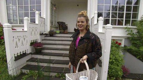 Ida Maria på Nordenga i Lunner. Foto: TVNorge