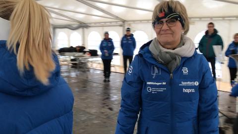 INHABIL: Randi Eek Thorsen (til venstre) ble erklært inhabil da regionrådet behandlet søknad om transportstøtte til NM på Lygna.
