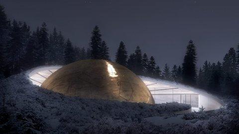 SOLOBSERVATORIET: Storstilte planer for Solobservatoriet på Harestua.