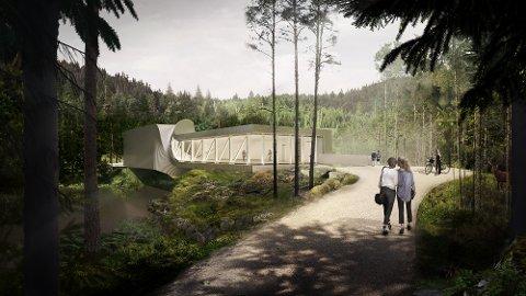 VEKKER OPPSIKT: Det nye museumsbygget ved Kistefos vekker internasjonal begeistring.