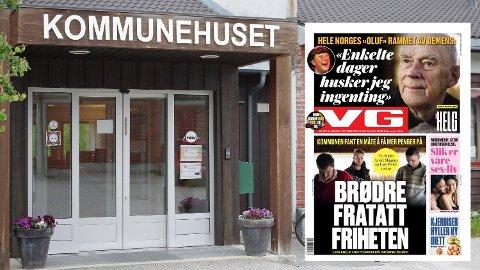 """VG-OPPSLAGET: """"Kommunen fant en måte å få mer penger på"""", skrev VG i høst. Vi kan fortelle en helt annen historie. Foto: Tonje Hovensjø Løkken/Famsimile VG"""
