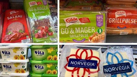 MANGE VALG: Blant en rekke matvarer har du mulighet til å velge en magrere og sunnere variant. Illustrasjonsfoto. Foto: Nina Lorvik (Mediehuset Nettavisen)