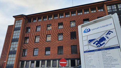 TO NYE: I løpet av det siste døgnet har Sykehuset Innlandet fått to nye koronasmittede pasienter.