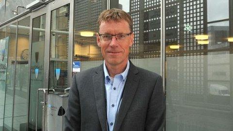 TILSATT: Knut Sletta (54) ble i statsråd fredag tilsatt som nye jernbanedirektør, i en åremålsstilling på seks år.