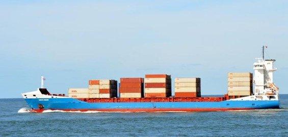 KOKAINSKIP: Ombord i «Grete Sibum» fant tollerne mer enn 100 kilo kokain.