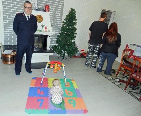 Småbarnsfamilier sliter, og Frelsesarmeen hjelper rekordmange denne jula.