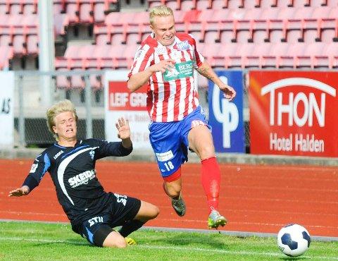 MIDTSTOPPER IGJEN: Ole Strømsborg fikk prøvd seg som spiss i Kvik HFK forrige sesong. Nå er han tilbake på midtstopperplass.