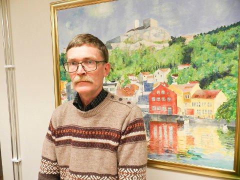 Geir Helge Sandsmark kjemper om en plass i fylkestinget.