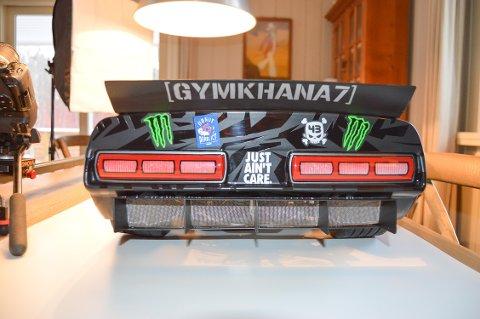 Chris de Graf har laget mange kule biler. Bare fantasien setter grenser.
