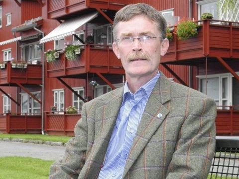 Andreplass: Geir Helge Sandsmark sikret seg andreplassen på Øtfold Venstres fylkestingsliste.