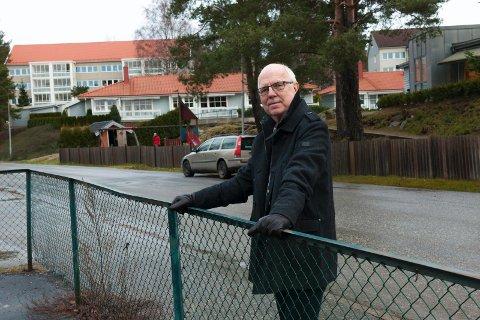 ULYKKELIG: – Jeg er dypt ulykkelig over situasjonen til barna, foreldre og ansatte i Glenne barnehage, sier Andreas Holtan.