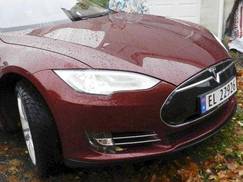 POPULÆR ELBIL: Tesla.Arkivfoto
