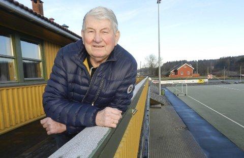 ÆRESMEDLEM: Innsatsen som Ole-Marthin Solheim har lagt ned i alle år, har gjort ham til æresmedlem i Berg Idrettslag.