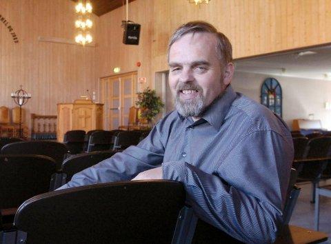 Dagfinn Stærk er leder i Halden KrF og topper kommunevalglista. FOTO: JAN ERIK SØRLIE
