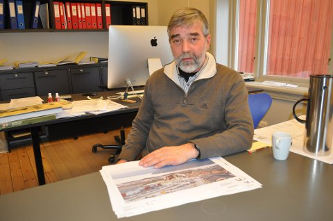 Arkitekt Jon Tore Grimsrud.