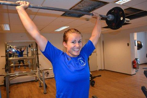 Martine Moen har all grunn til å smile. Hun er tatt ut på Norges rekruttlandslag i håndball! Arkivfoto: Atle Wester Larsen
