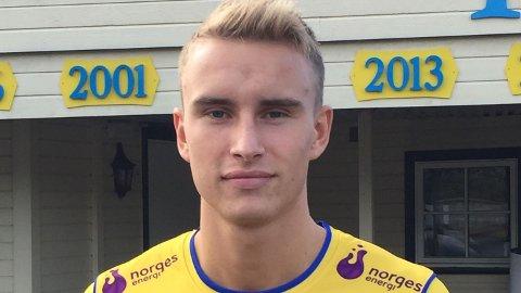 Martin Hoel Andersen har fått en fin start i Jerv Grimstad.