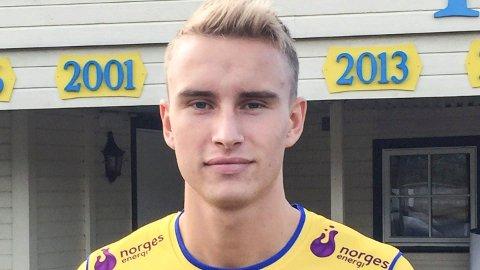 SKADET: Martin Hoel Andersen er skadet, og blir ikke å se på banen for Jerv igjen før i september.