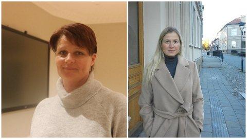 ORDFØRERKANDIDAT: Torsdag skal Halden Arbeiderparti bestemme seg for om de skal ha Kirsti Brække Myrli (t.v) eller Linn Laupsa som ordførerkandidat.