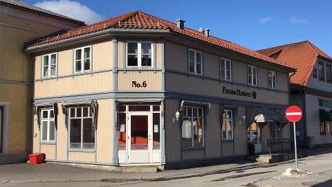 ÅPNER HER: Mother India etablerer seg her på hjørnet av Frisøhjørnet.