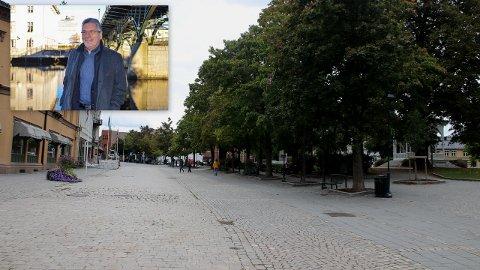 VIL LÆRE: Ordfører Thor Edquist vil se på hva andre byer har gjort for å utvikle sentrum og ta lærdom av det.