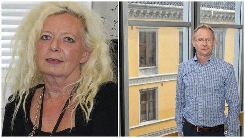 Berit Stangeland (t.v) og Roar Vevelstad møttes i tingretten 18. desember.