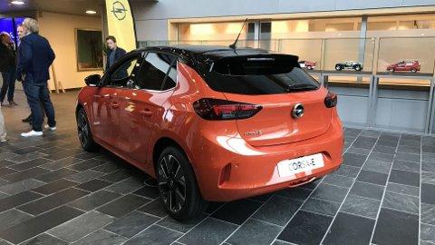 Opel Corsa-e er akkurat nå en snartur i Norge, noen måneder før den offisielle lanseringen starter. Alle foto: Mats Brustad.