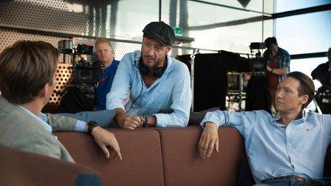 VANT PRIS: Haldenser Øystein Karlsen er serieskaper og regissør for den nye NRK-serien Exit som vant en prestisjefylt pris under festivalen Series Mania i Frankrike.