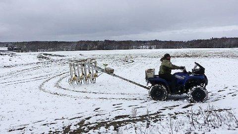 Ved bruk av magnetometer og georadar er det samlet store mengder data om området på Gjellestad. Nå ser man på mulighetene for ny bruk av disse dataene.