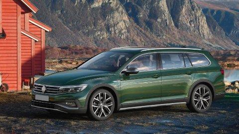 Volkswagen Passat kommer i ny utgave til høsten. Alltrack-versjonen (bildet) får du bare med dieselmotor. Dermed blir den heller ikke bestselgeren i Passat-familien her hjemme.
