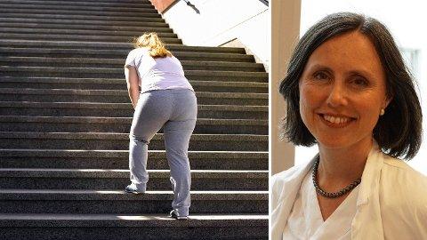 FETTLEVER: En av tre nordmenn har fettlever. Overlege Mette Vesterhus bekrefter det en ny NTNU-studie nå viser: At god kondisjon er den beste medisinen mot fettleversykdom. Foto: Getty/Privat