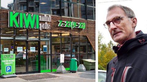KRITISK: MDG-politiker Harald Moskvil er kritisk til Kiwis smaksgaranti på brød. Foto: Alexander Winger (Mediehuset Nettavisen) / Ralf Haga (Gjengangeren)