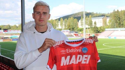 MØTER GAMLE KJENTE: Martin Hoel Andersen rykket ned med Kongsvinger, og kan denne sesongen se fram til kamper mot gamleklubben Kvik Halden,