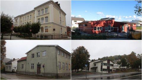 Dette er noen av bygningene som politikerne ønsket å selge.