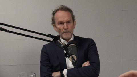 KLART RÅD: Harald Magnus Andreassen da han gjestet Nettavisens podcast tidligere i år. Foto: Trond Lepperød