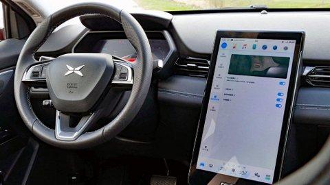 Elbilen Xpeng G3 er en teknologibombe som tar opp konkurransen med Tesla. På enkelte områder ligger de foran den amerikanske produsenten, men de skal likevel slite med å kopiere Tesla-suksessen.