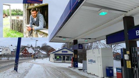 Øyvind Malkenes (innfelt) skal drive food truck herfra. Åpningen skjer på fredag.