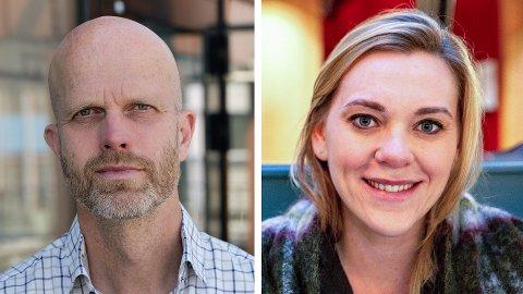 FORUTSIGBARHET: Hallgeir Kvadsheim og Lene Drange mener du bør vektlegge forutsigbarhet om du vurderer å binde renten. Foto: Alexander Winger og Espen Teigen (Nettavisen)