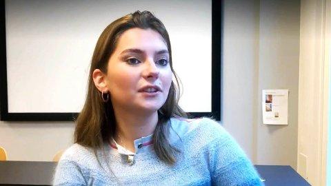 Rachel Enstad (21) mente hun hadde kommet til et punkt hvor hun ikke klarte å balansere skole, jobb og drikking.
