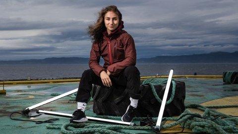 FINALIST: Mossingen Seher Kaya er en av tre finalister i årets sesong av NRK programmet Norges Tøffeste.