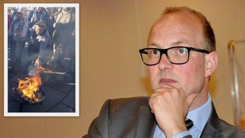 Østfold-politiker Ole André Myhrvold takker nei til ekstratilbud om vaksine. Han foreslår at den heller bør gis til Svein Østvik.