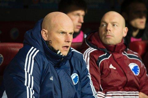 VAR URETTFERDIG: FC Københavns trener Ståle Solbakken under Champions League kampen mot Real Madrid i Parken.