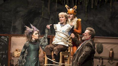 Drama: Hvordan det ender til slutt kan du få vite på Hamar Teater i romjula.