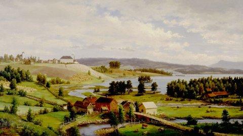 OMVISNING: En guidet omvisning på Sælid gård skal gi innblikk i gårdens historie.