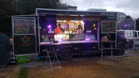 TIL HAMAR: Rullende matboder inntar Stortorget denne sommeren i «Food Truck Festival».