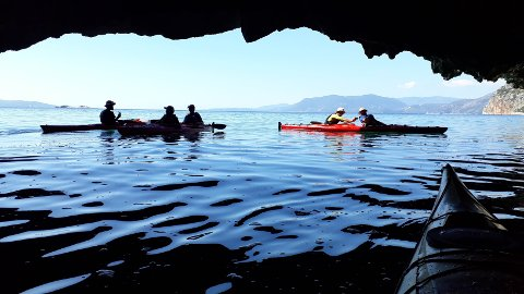 I HELLAS: Bilde fra en av gruppeturene til Ole Martin i Hellas.