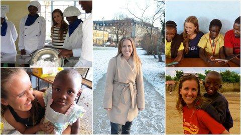 FULGTE DRØMMEN: Birgitte Vold fra Stavsberg sa som 14-åring at hun ønsket å jobbe for de svake i samfunnet og nå har 29-åringen en egen bistandsforening i Zambia. Nå er hun tilbake på Hamar, men regner med at det blir en ny tur til Zambia i slutten av januar.