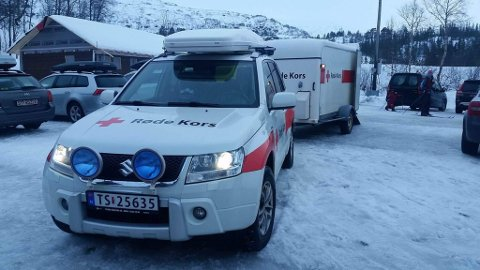 Korlevoll. Torsdagens redningsaksjon var den 73. i 2016.