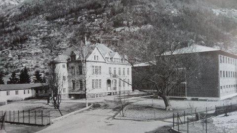 Nordagbrakka, gamle og nye sjukehus